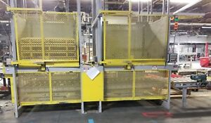 2 Newcastle Pallet Dispensers Stackers With Conveyors Hydraulic Pump electrical