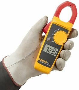 True Rms Clamp Meter Multimeter Ac Dc Fluke Digital Handheld Tester Accurate