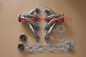 Chevy Ls1 Ls6 Block Hugger Stainless Steel Exhaust Headers Free Ship To Usa