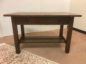 Stickley Brothers Library Table