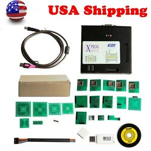 Usa Ship Latest Version V5 60 X prog Xprog m Box Ecu Programmer With Usb Dongle