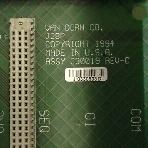 Van Dorn Rack 330019 Used 86440