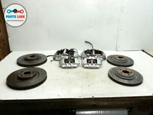 Mercedes R230 Sl55 Amg Brembo Brake Calipers W rotors Set Front Rear Right Left