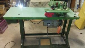 Us Blind Stich Industrial Sewing Machine With Puller And Table Model 718 n 6
