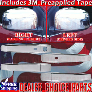 Dodge Grand Caravan Chrysler Town Country Chrome Door Handle Covers W Sm Mirrors