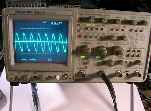Tektronix 2465b Analog Oscilloscope Sold W A Probe S B013228