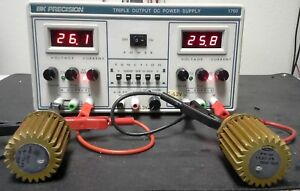 Bk1760 Three Output Lab Power Supply 30v 30v Tested 3 Digit Led V A Displays