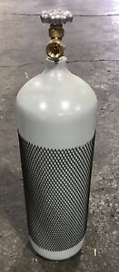60 Cf Cylinder Inert For Welding Bottle Tank Cga580 Argon Argon co2 Helium