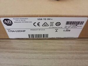 1pc New Ab Allen Bradley Usb to data Highway Plus Cable 1784 u2dhp