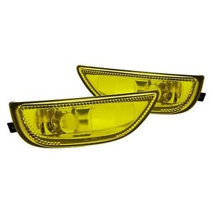 For Toyota Corolla 2001 2002 Lumen 86 1001587 Yellow Factory Style Fog Lights