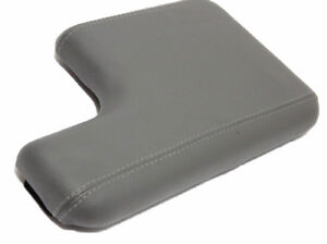 Armrest Center Console Lid Cover Vinyl For 00 06 Ford Ranger W Cup Holder Gray