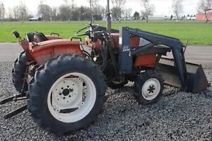 Allis Chalmers 5020 Runs Parting Out