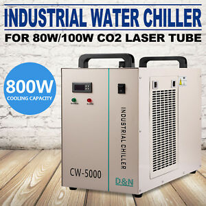 Cw 5000dg Industrial Water Chiller Thermolysis Type 80w 100w Engraving Machine