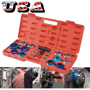 Camshaft Bearing Remover Installer Tool Kit Set Crank Seal Removal Motor Tool