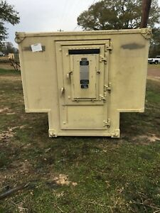 Military Shelter Container