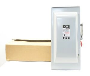 New Murray Ghn323nw 100a 2p Fusible Disconnect Switch 240v ac 250v dc D592702