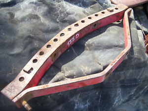 Original Massey Harris 555 Diesel Tractor drawbar Frame Support 1957