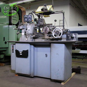Hardinge Hc Lathe With Manual Threading Attachment