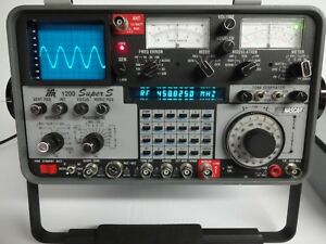 Ifr 1200 Super S Service Monitor Analyser Tested A1 W New Battery