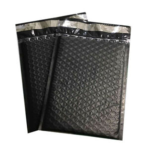 5 10 5x16 Black Poly Bubble Mailers Padded Bags Shipping Envelopes 10 5 x15
