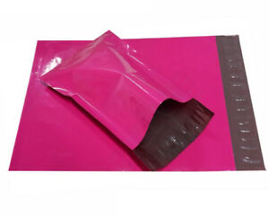 6x9 Hot Pink Poly Mailers Plastic Envelopes Colour Shipping Mailing Bags 6 X 9