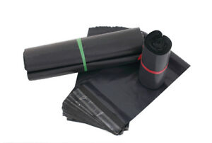 6x9 Black Poly Mailers Plastic Envelopes Colour Shipping Mailing Bags 6 X 9