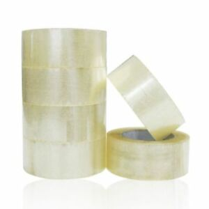 110 Yards Clear Packing Tape Packaging Cartons Box Sealing Moving Shipping 330ft