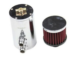 An10 New Baffled Aluminum Oil Catch Can Reservoir Tank With Breather Filter