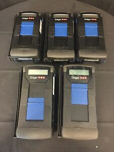 lot Of 5 Drager Cms 6405250 Gas Analyzer Unit