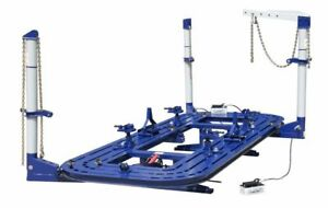 Brand New Heavy Duty 18 Feet Auto Body Frame Machine Frame Rack Free Tool Cart