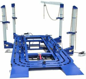 20 Feet 4 Towers Auto Body Shop Frame Machine With Free Clamps tools Tools Cart