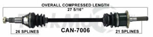 Cv Axle Assembly Front Right Surtrack Fits 11 15 Can am Commander 1000 Xt