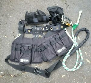 Hintze Safety Climbing And Utility Belt tools Not Included