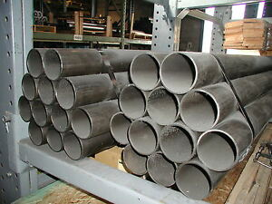 4130 Large 4 735 X 188 Wall Chrom Moly Steel Rnd Tubing 20 Length