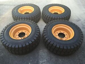 12 16 5 Galaxy Trac Star Skid Steer Tires wheels rims For Case Xt
