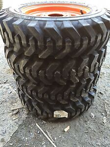 4 5 70 12 Xtra Wall Foam Filled Skid Steer Tires wheels For Bobcat 453 463 s70