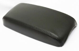 Black Center Center Console Armrest Cover Synthetic Leather For 03 08 Mazda 6