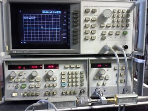 Hp 8757c Scalar Network Analyzer 3 Port Compatible With Most Sweep Generators