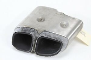 2010 2013 Porsche Panamera S 970 Rear Left Side Exhaust Tail Pipe Tip Oem