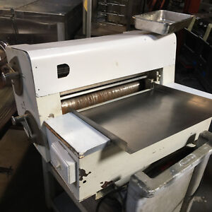 Anets Mdr6c Double Pass Dough Roller Pizza Bakery Countertop