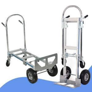 Usa Aluminum Stair Climber Hand Truck Dolly Heavy Duty 550lbs 770lbs Capacity