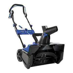 Snow Joe Ultra 21 14a Electric Snow Thrower With 4 Blade Steel Auger damaged