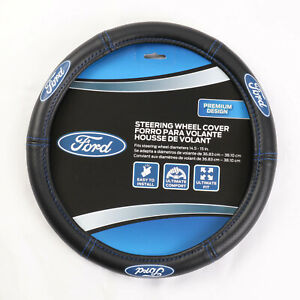 New Ford Elite Car Truck Suv Van Synthetic Leather Steering Wheel Cover