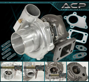 T3 T4 Turbo Charger 57 A R Compressor Turbine 400 Hp 5 Bolt Flange For 240sx