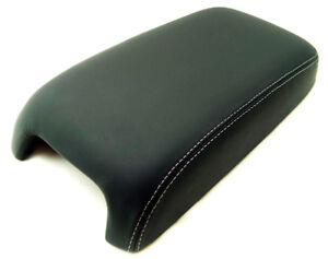 Gray Stitch Center Console Lid Cover Synthetic Leather For 11 18 Dodge Charger