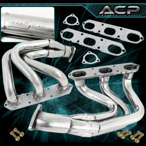 For 996 997 99 05 Porsche 911 Carrera N a Stainless Steel Header Exhaust