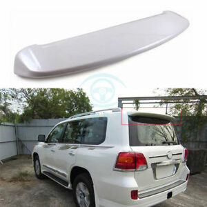 For Toyota Land Cruiser Lc200 2008 15 Pearl White Car Rear Roof Wing Lip Spoiler