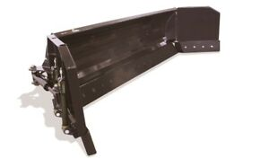 120 10 Hydraulic Snow Blade Pusher Combo Skid Steer Loader Attachment Bobcat