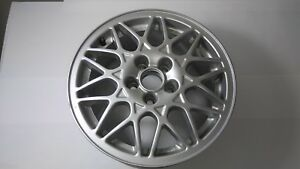 Set Of 4 New Nos Vw Bbs 5x100 Aluminum Wheel 15x6 5 5 Lug 1h0601025aa Set A