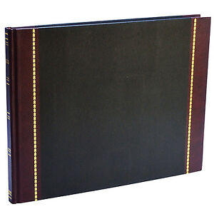 Wilson Jones Ws491a Detailed Visitor Register Book 9 1 2 X 12 1 4 208 Pages